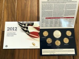 2012 W American Eagle Burnished Die Uncirculated Dollar OGP US Mint
