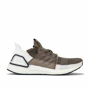 Homme-Adidas-ultraboost-19-lacets-Respirant-Amorti-Baskets-en-vert