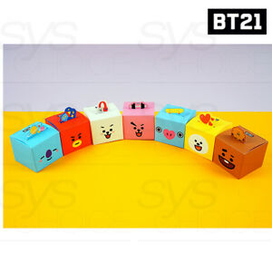 BTS BT21 Official Authentic Goods Gift Box 7SET by Kumhong Fancy + Tracking Num