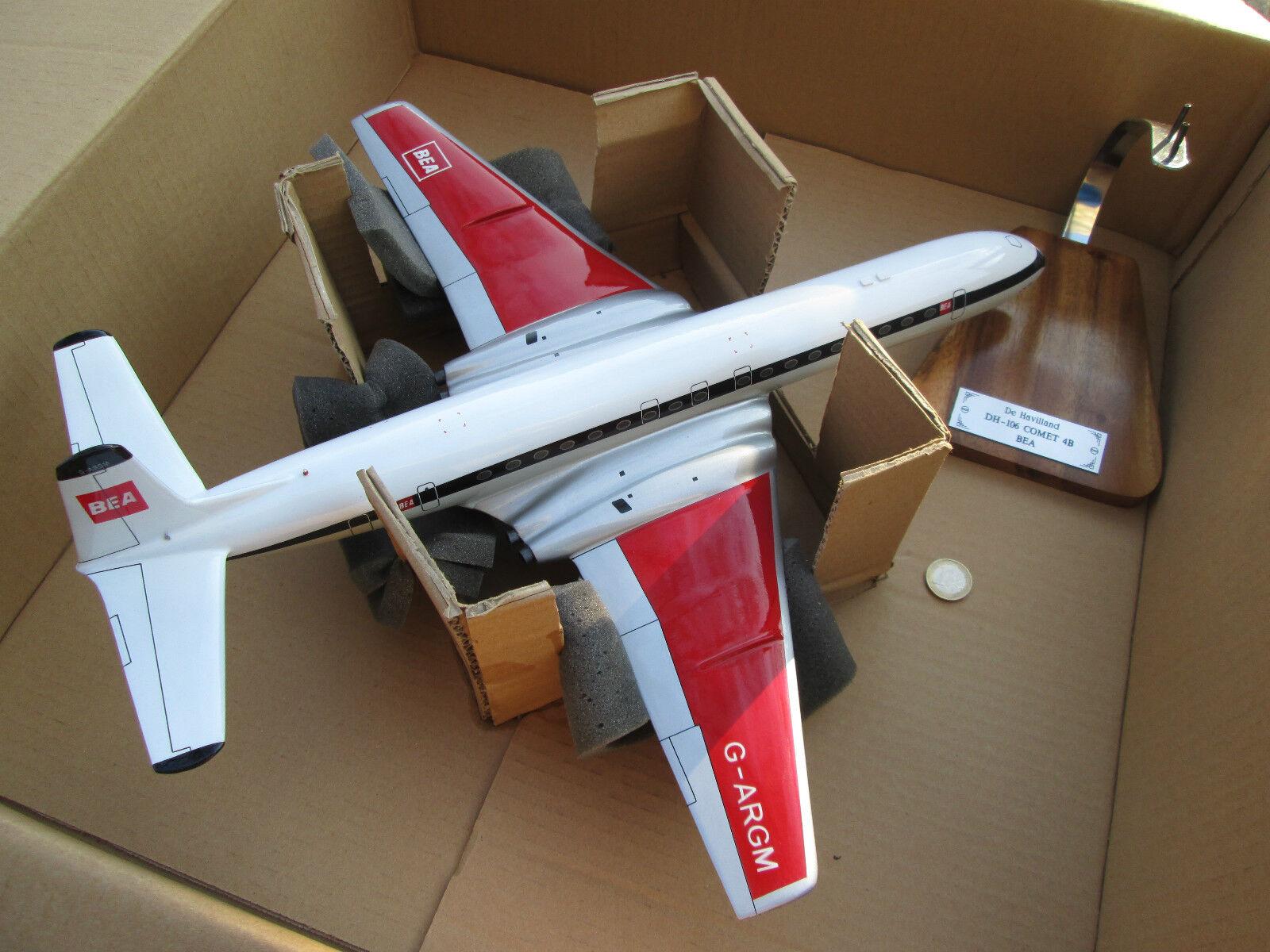 Havilland dh.106 Cometa Enorme 1 72 woodmodel   AVION Aircraft   yakair