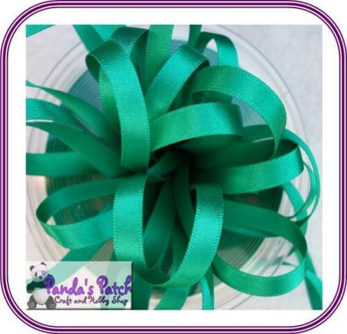 Choose Width and Colour Berisfords Double Sided Polyester Satin Ribbon Reels