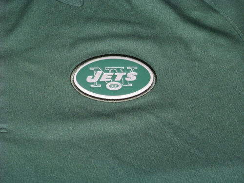 Nike DriFit Men/'s New York Jets On Field Apparel Polo Shirt NWT