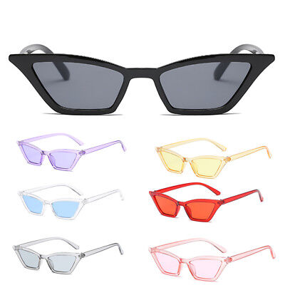 Retro Women Big Cat Eye Sunglasses Vintage Shades Oversized Glasses Eyewear CHJ