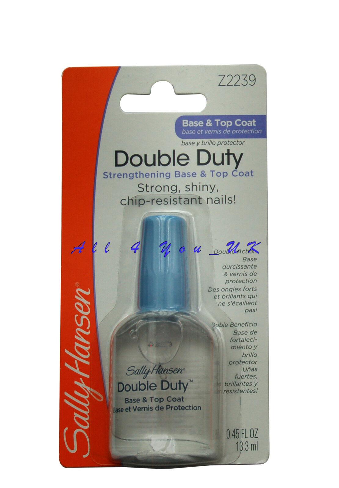 Esmalte Sally Hansen Double Duty Base & Top Coat 45109 13.3mL