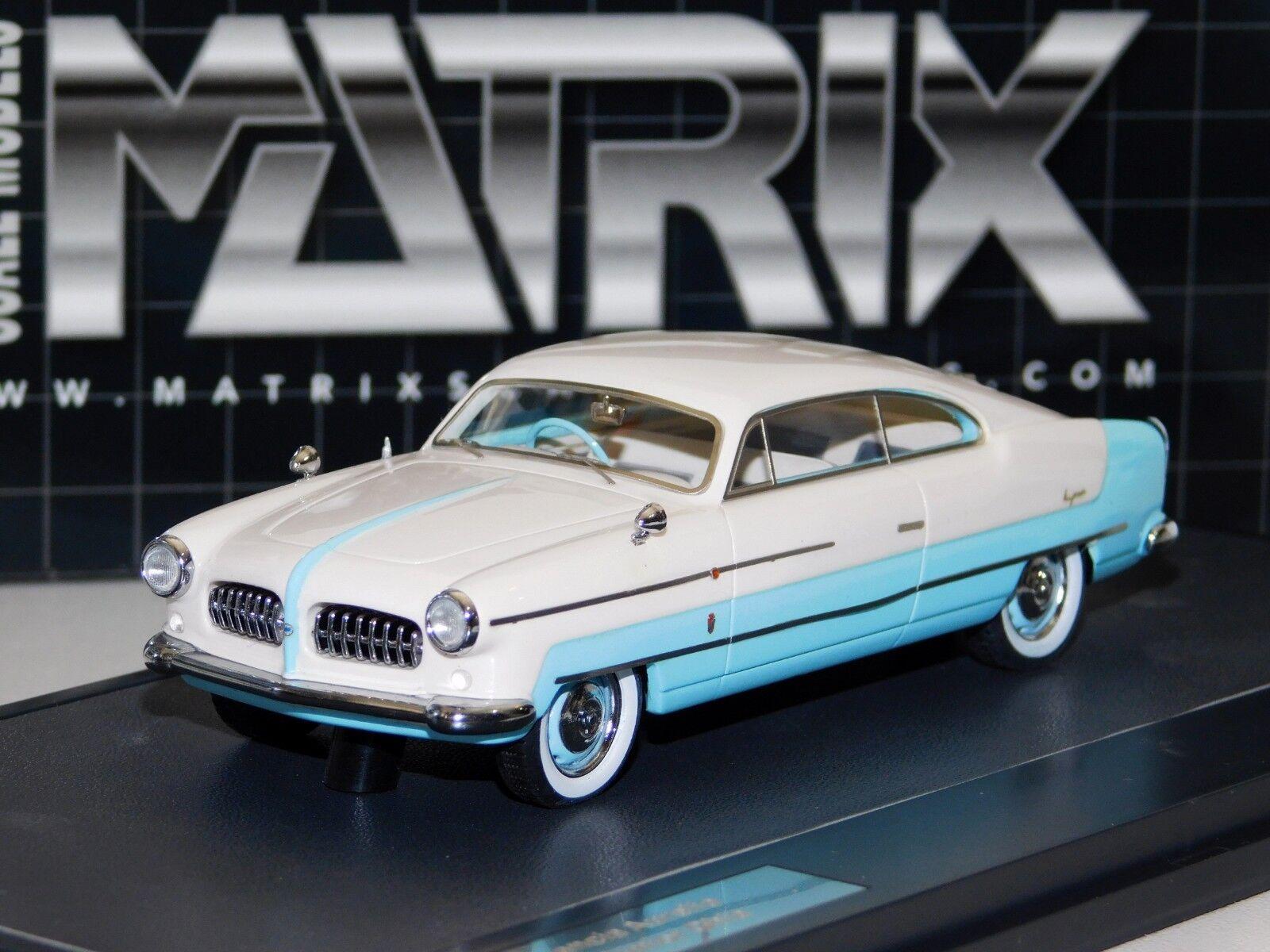 Lancia aurelia b - 52 b - junior ghia 1952 weiß   blau matrix lim.mx41203-021 1   43