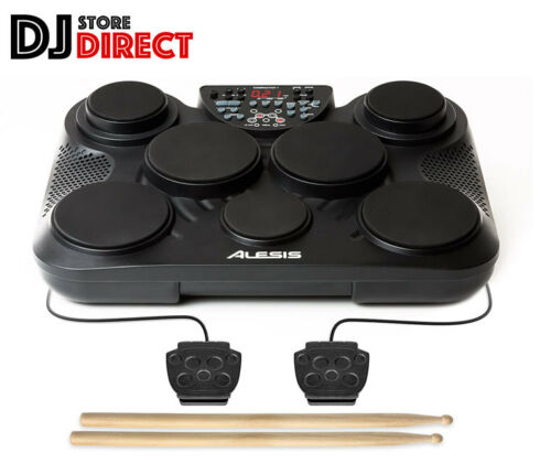 ALESIS COMPACT KIT 7 Pad Portable Electronic Kids Drum Kit USB MIDI Drumsticks