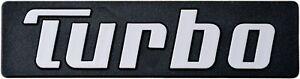 Auto Relief Schild 3D Aufkleber Turbo 10 cm original 1982 HR Art. 14726