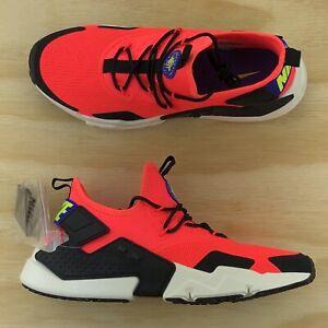 96ede6c1c9ac Nike Air Huarache Drift White Crimson Red Black Casual Shoes AH7334 ...