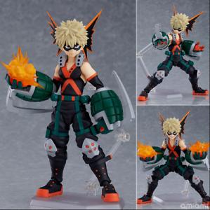 Anime Figma 443 My Hero Academia Katsuki Bakugo Action PVC Figure Toy Collection