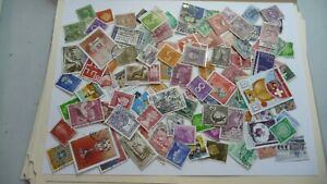 2128-lot-100-timbres-seconds-plusieurs-pays
