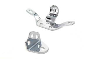 Vtwin Chrome Motorcycle Engine Mount Set 06-16 Harley FXST FLST Softail