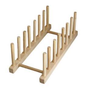 Abtropfgestell Holz Abtropfgitter Abtropfkorb Geschirrständer