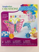 Imaginarium Creations Crackle Paint Friends 4 Animals Unicorn Create & Paint