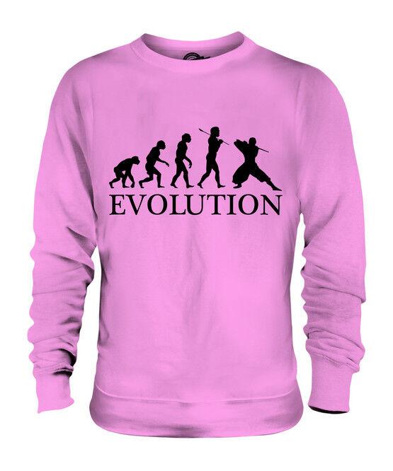 NINJA NINJA NINJA EVOLUTION OF MAN UNISEX SWEATER MENS damen LADIES GIFT MARTIAL ARTS    Offizielle    Online Shop    Hohe Qualität Und Geringen Overhead  d37c55