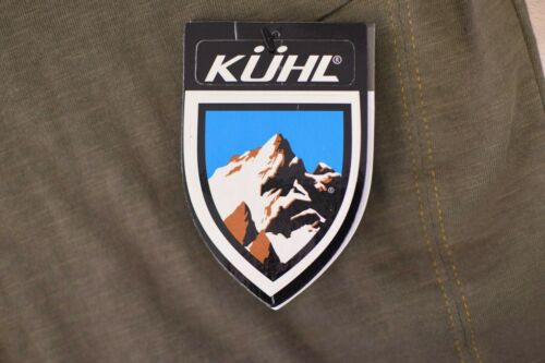 Retail $65 Kuhl Men/'s Vendetta Born In The Mountains Two Tone Crew L//S Tee