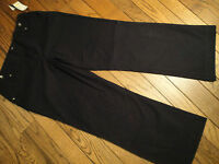 Bamboo Traders Black Pants Size 14