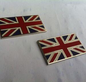 triumph-Quality-Self-Adhesive-Union-Jack-Badges-emamal-on-brass-BD4-G3