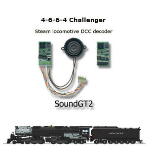 4-6-6-4-Challenger-SoundGT2-DCC-decoder-for-Bowser-Rivarossi-Athearn-or-brass