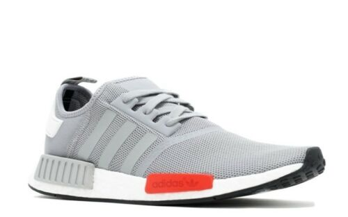Adidas NMD S79160 Baskets Ultra Boost Runner Nomad Runner Gris Rouge