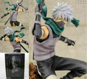 GEM Anime Naruto Shippuden 21cm New PVC Figure NoBox Hatake Kakashi Anbu Ver