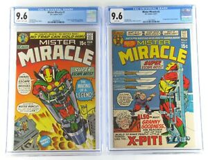 Mister-Miracle-1-amp-2-CGC-9-6-1st-App-of-Mister-Miracle-Oberon-amp-Granny-Goose