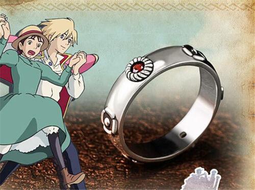 Howl/'s Moving Castle Ring 925 Silver Sophie amant COS cadeau de Noël USA Taille 7