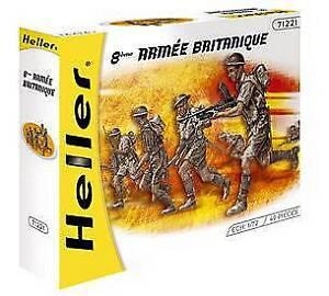 HEL49632 Commandos Br itanniques British Commandos - Heller 1:72