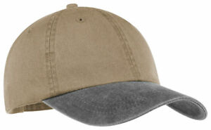 Port-amp-Company-Unstructured-Hat-Adjustable-Cotton-Low-Profile-Baseball-Cap-CP83