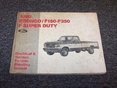 1990 Ford Bronco F150 F250 F350 F-Super Duty Electrical ...