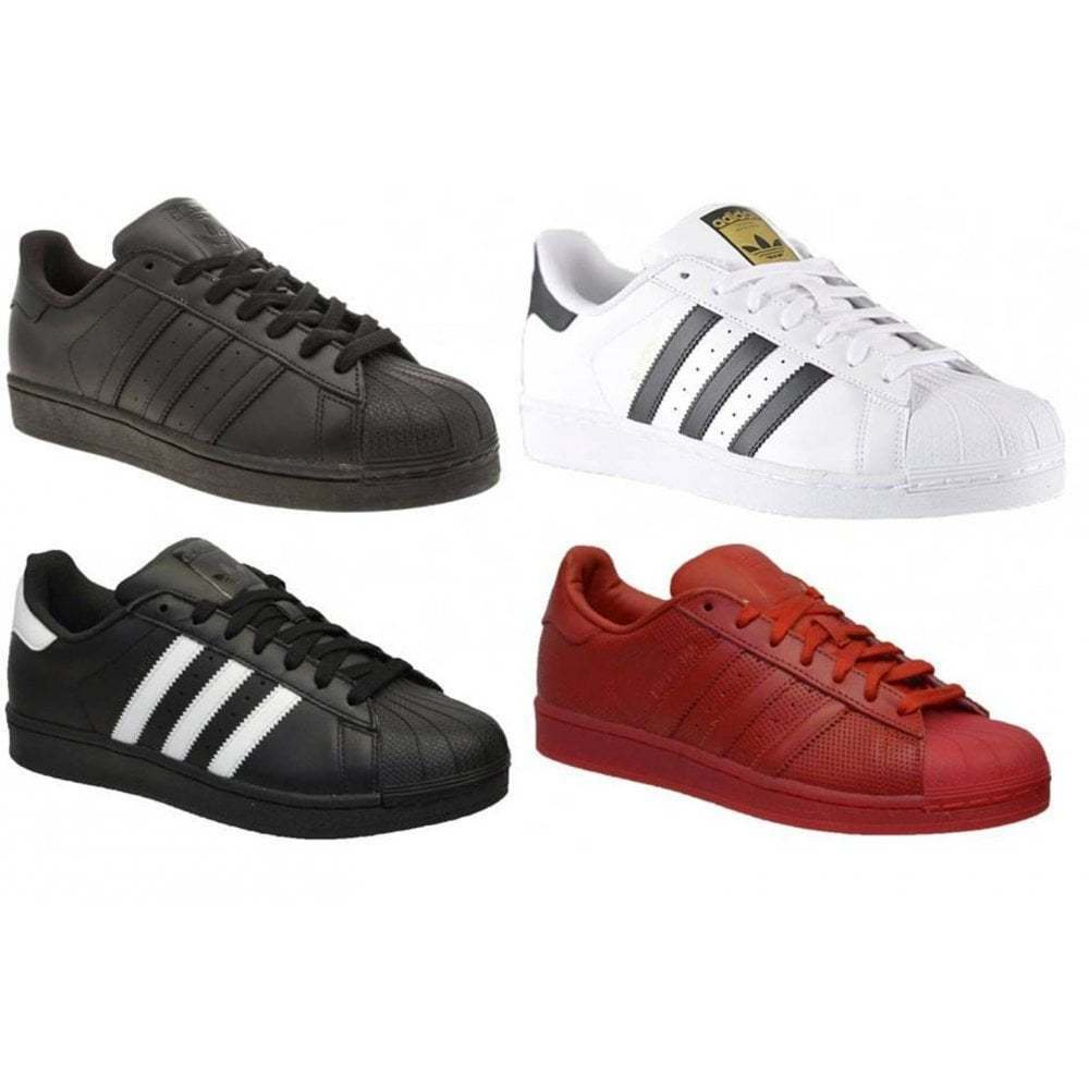 Adidas Superstar Foundation  AdiFarbe Mens Trainers All Größes in Various Colours