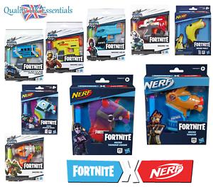 Nerf Fortnite Microshots Blaster Kids Pistol Collectible Toys New Range Thunder