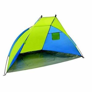 Image is loading Beach-Shelter-Pop-Up-Canopy-Tent-UV-Sun-  sc 1 st  eBay & Beach Shelter Pop Up Canopy Tent UV Sun Shelter Camping Fishing ...