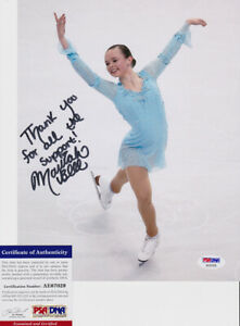 Mariah-Bell-US-Figure-Skater-Signed-Autograph-8x10-Photo-PSA-DNA-COA-1