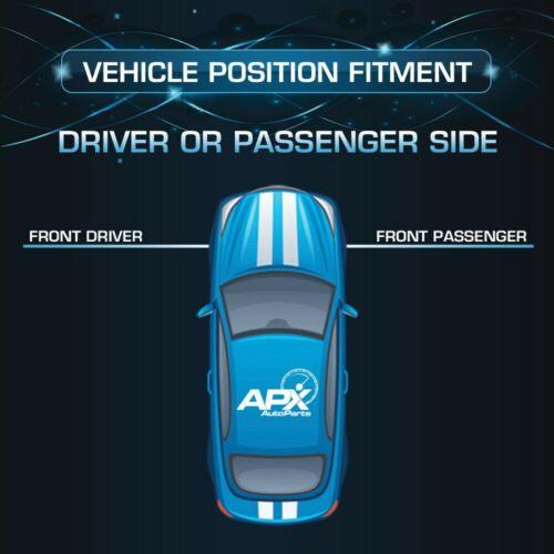 Front Shock Absorber fits 94-01 Dodge Ram 1500//2500 4WD Front
