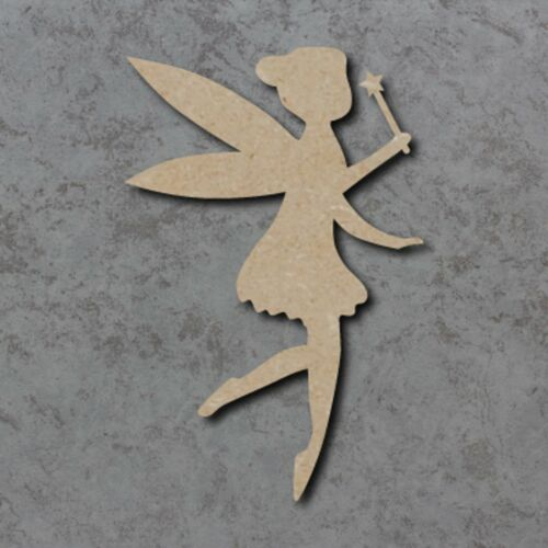 Large MDF Fairy Craft Wooden Shape Blank Wood 20,30 40cm Unpainted