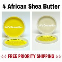 4 African Shea Butter 8 Oz. 100% Pure Raw Unrefined Organic Bulk Wholesale Lot