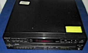 Sony-CDP-C615-Audiophile-5-Disc-Carousel-Multi-Player-CD-Changer