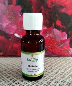Aroma- & ätherische Öle Salbeiöl Rein Und Natürlich ätherisches Öl Rein 10 Ml Bis 100 Ml Beauty & Gesundheit