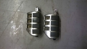 Details about HARLEY SHOVELHEAD EVO TWIN CAM FXR SOFTAIL TOURING CHROME  HIGHWAY PEGS