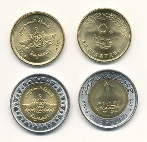 Egypt-Egypt-50-Piastres-1-Pound-2015-UNC-Suez-Canal