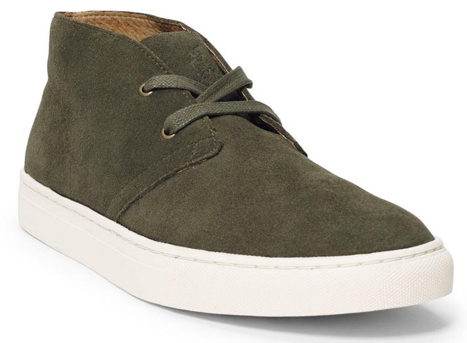 New Polo Ralph Lauren Men 10D CHUKKA Boot Lace Up Casual Fashion Sneaker shoes