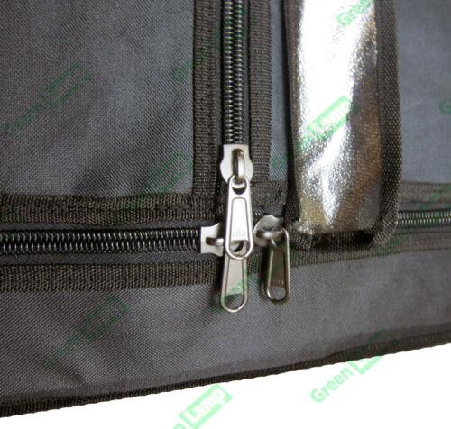 Premium 100cm x 100cm x 200cm 600D Silver Mylar Grow Tent Bud Box Hydroponics