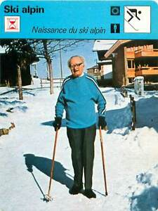 "FICHE CARD: Sir Arnold Lunn Skieur Alpiniste GB ""Inventeur"" du SKI ALPIN 1970s - France - Jeux Olympique Olympic GamesPORT EUROPE GRATUIT A PARTIR DE 4 OBJETSBUY 4 ITEMS AND EUROPE SHIPPING IS FREE FICHE FRANCE ANNEES 70s Alpine skiing Skieur alpin ETAT VOIR PHOTO FORMAT 16 CM X 12 CM SIZE : 6.29 "" X 4.72 "" inch FICHE SPORT SKI ALPIN. - France"