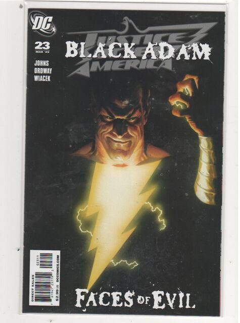 Justice Society of America #23 Black Adam Geoff Johns Alex Ross 9.6