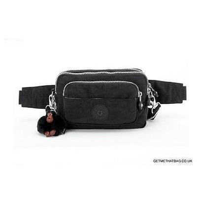 Kipling Multiple Waistbag/Shoulder/Bumbag Monkey Brown, Black,True Blue RRP £49