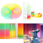 Magic Slinky Plastic Rainbows Springs Bounce Children FunToys Birthday Gift WS