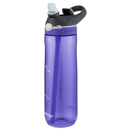 Plastique Bouteille d/'eau avec Flip Paille vigne environ 680.38 g Contigo Autospout Ashland 24 oz