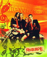 Rebelde Rbd 2004 Mexican Pop Music Group 50 X 60 Fleece Throw Blanket