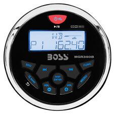 Boss Audio MGR350B Marine Gauge Style Radio - MP3/CD/AM/FM/RDS Receiver MGR350B