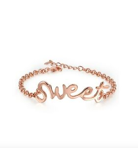 18K-Rose-Gold-Plated-Love-Sweet-Alphabet-Charm-Fashion-Chain-Wedding-Bracelet